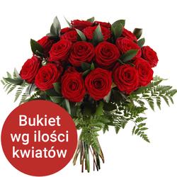 Bukiet 11 róż Telekwiaciarnia