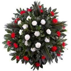 Wieniec pogrzebowy Na zawsze w sercu Telekwiaciarnia